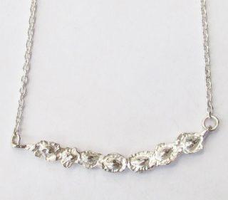 Sterling Silver Pod Necklace
