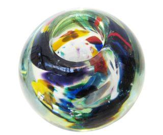Kaleidoscope Glass orb by Anthony Genet