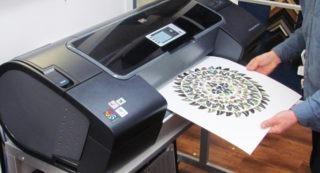 Printing fine art - Menu image